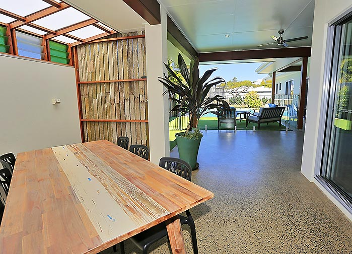 4 bedroom executive - outdoor area
